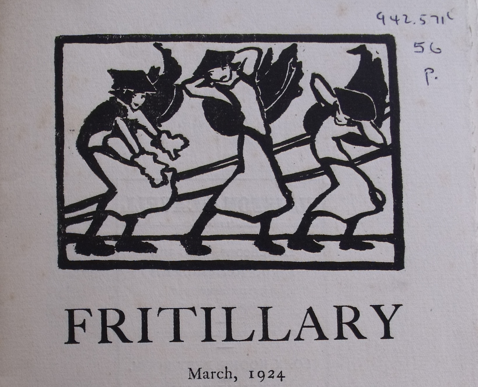 The Fritillary, March 1924