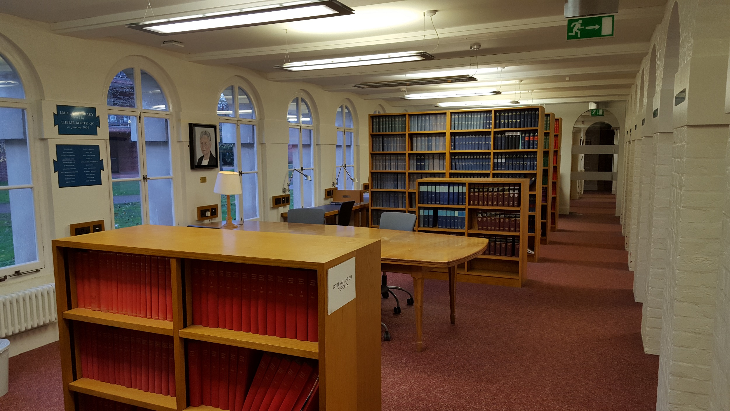 The renovated Law Library