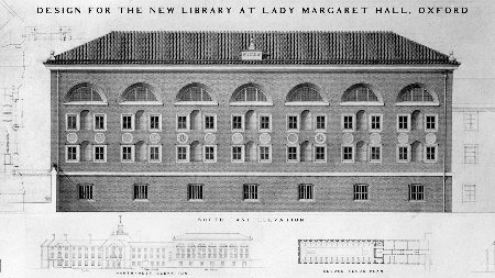 The plan for the library