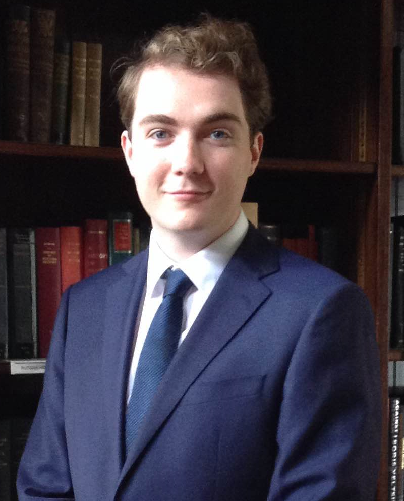 Tom Cook, Graduate Trainee Library Assistant