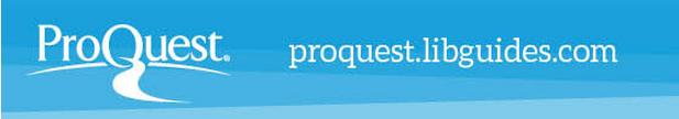 ProQuest LibGuides logo