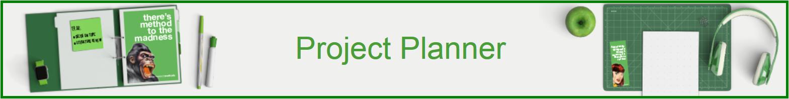 SAGE Project Planner banner