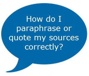 quote or paraphrase successfully graphic