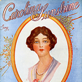 """Cameo of a young woman on a pale blue background with the words """"Carolina Sunshine"""" written on it"""