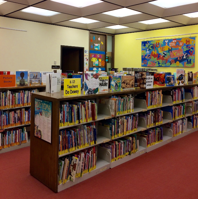 Picture 1 of K12 area in Library