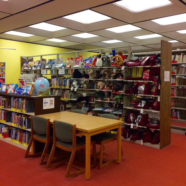 Picture 2 of K12 area in Library