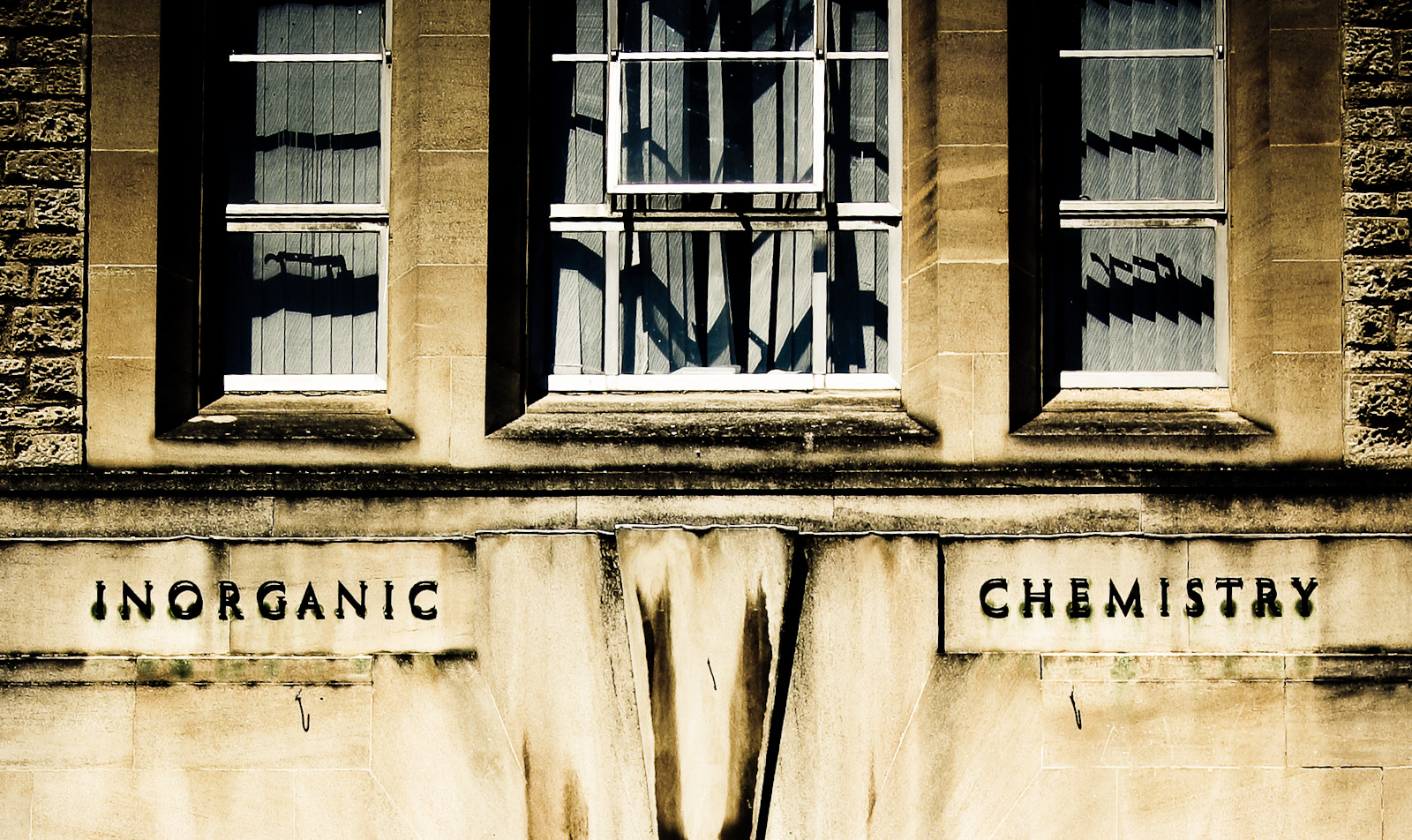 Inorganic Chemistry building at the University of Oxford. Photo copyright Al Power.