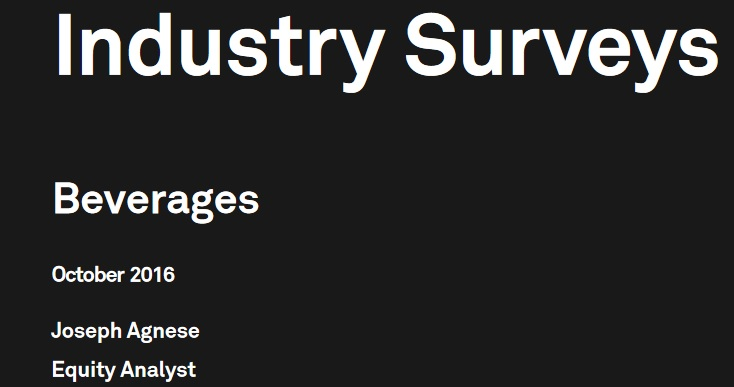 sample s and p capital industry survey