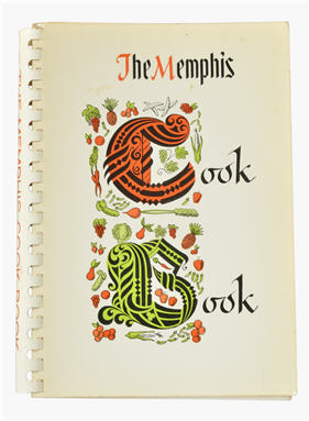 Book cover Memphis cookbook