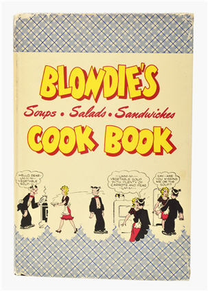 Book cover Blondie's Soups, Salads, Sandwiches