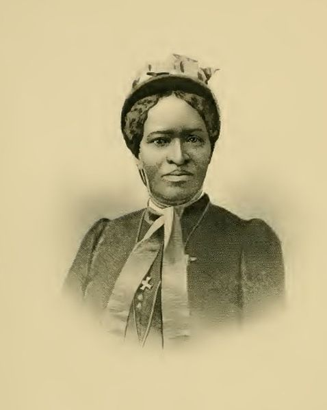 Portrait of Mrs. Amanda Smith from her book