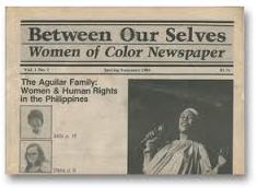 Sample issue of Between Our Selves: Women of Color Newspaper