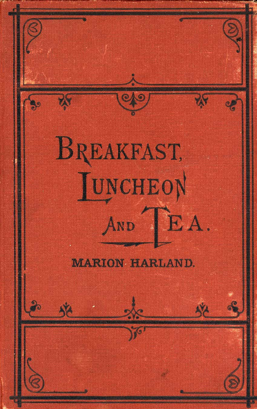 Book cover Breakfast Luncheon and Tea