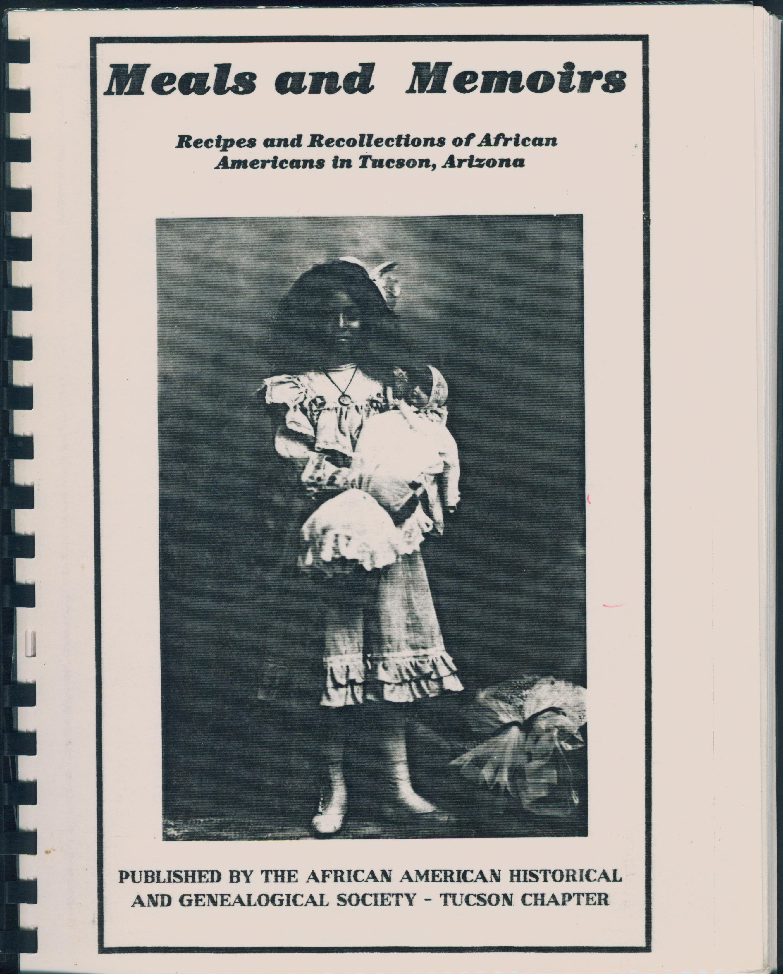 Cover of Meals and Memoirs: Recipes and Recollections of African Americans in Tucson, Arizona