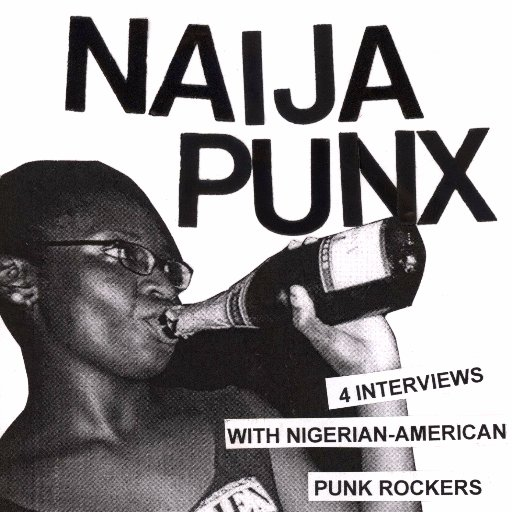 Detail from cover of Naija Punx zine.