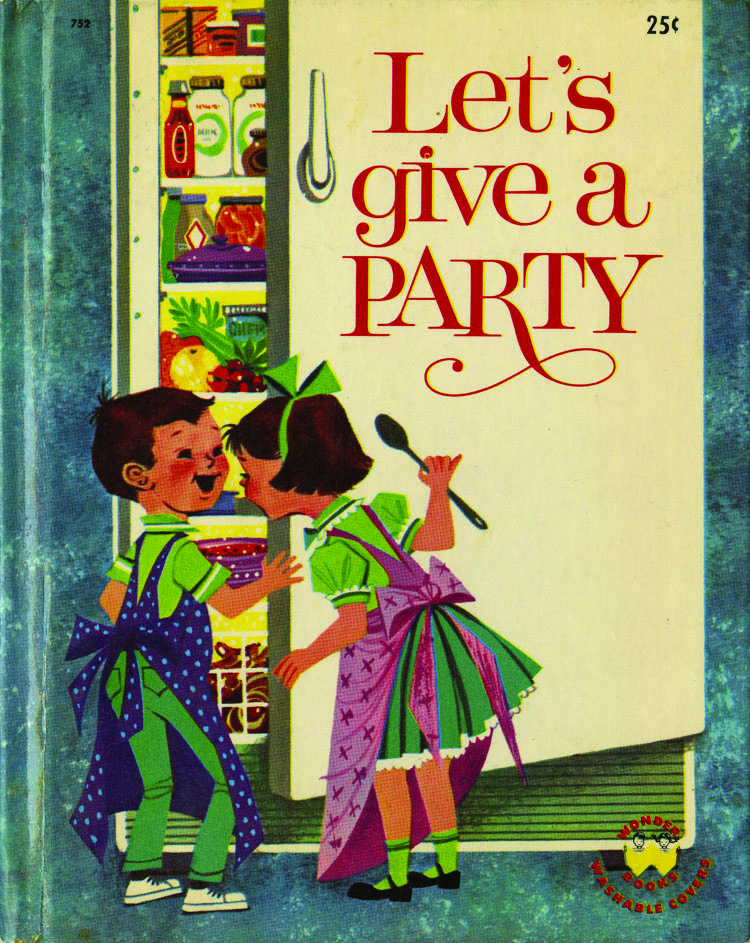 Book cover Let's Give a Party cookbook