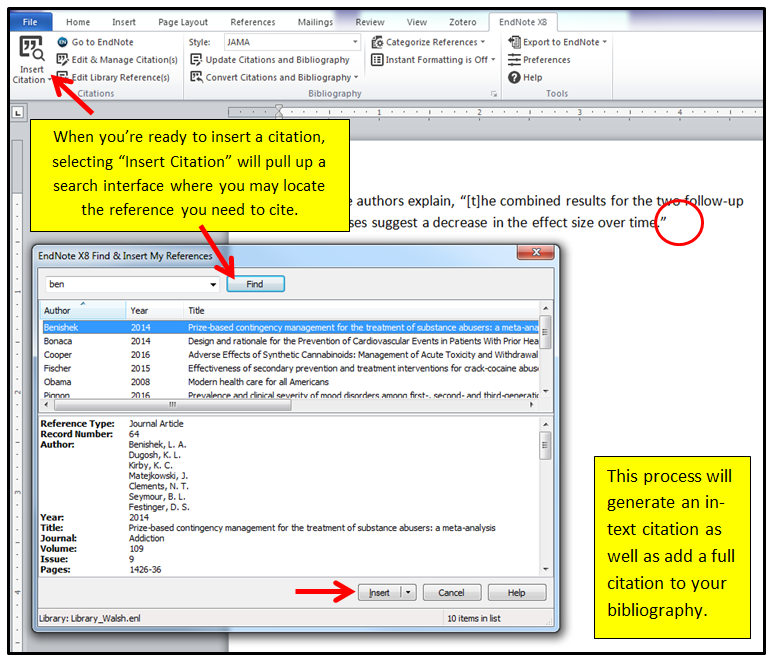 Writing - EndNote @ Levy Library - Levy Library Guides at