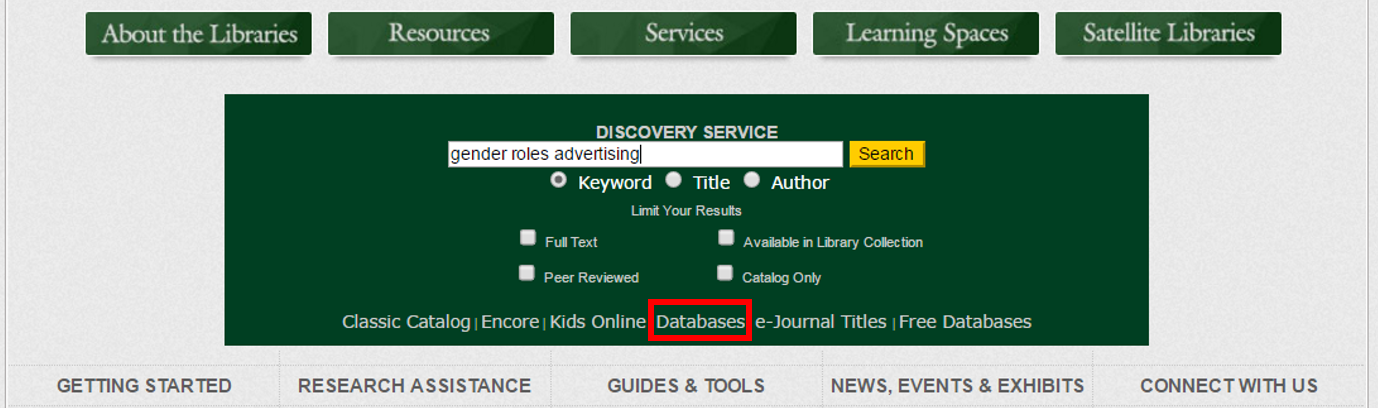 How do I search using the EBSCOhost Integrated Search (EHIS
