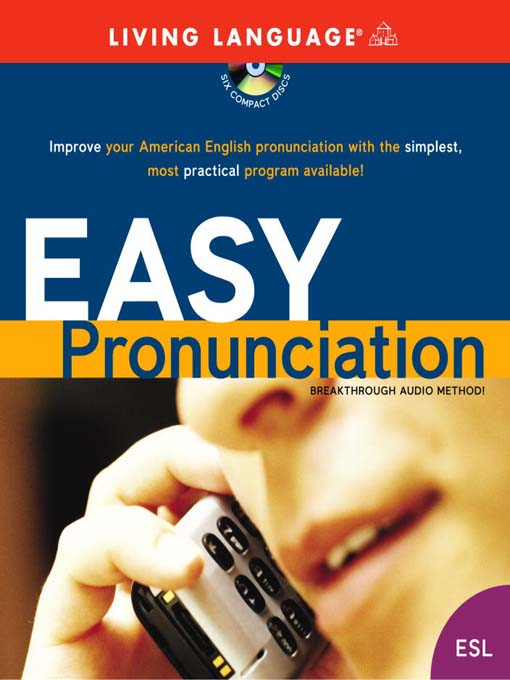 "tiny thumbprint image of the book cover to the book ""Easy pronunciation"""