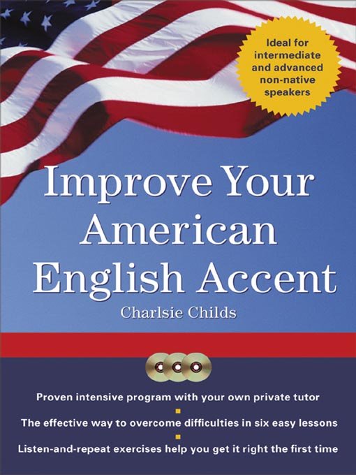"tthumbprint image of the cover of the book ""Improve your American English accent"""