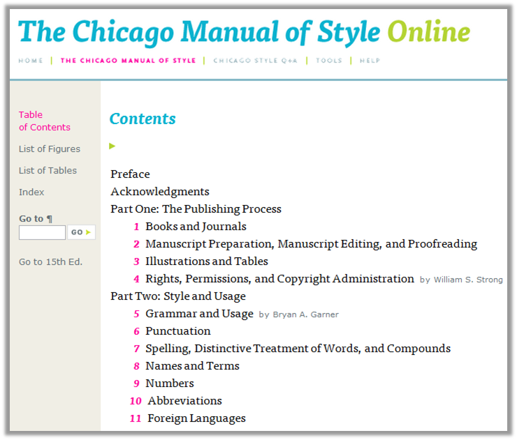 Chicago manual style masters thesis citation