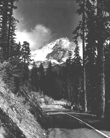 Historic Image of Mt. Hood in Oregon