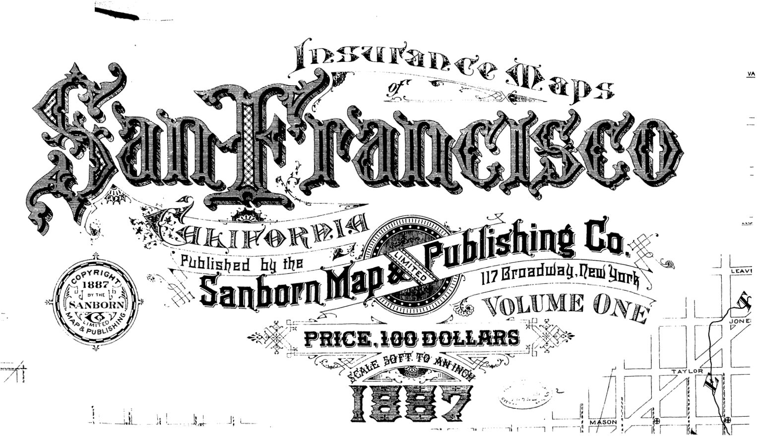Sanborn Fire Insurance Maps Local Research SF Oakland
