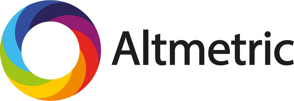 "The Altmetric ""Donut,"" or logo."