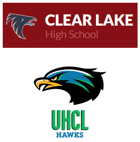 CLHS Falcoln and UHCL Hawk