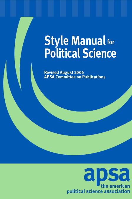 Apsa political psychology best dissertation