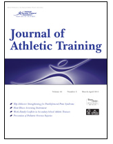 Cover of Journal of Athletic Training