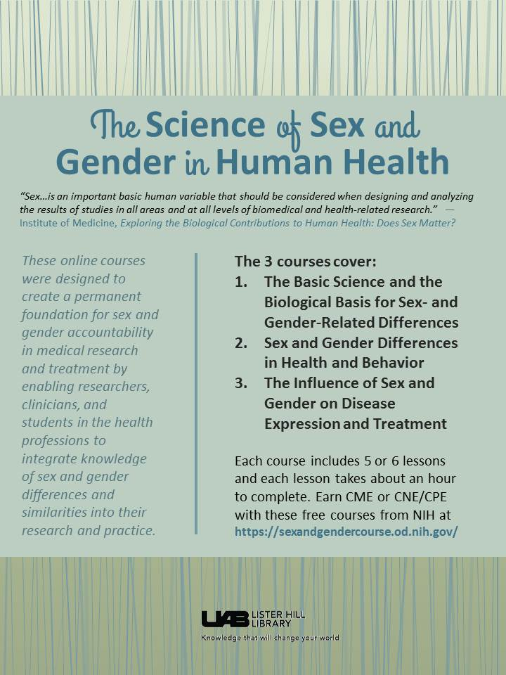 The Science of Sex and Gender in Human Health