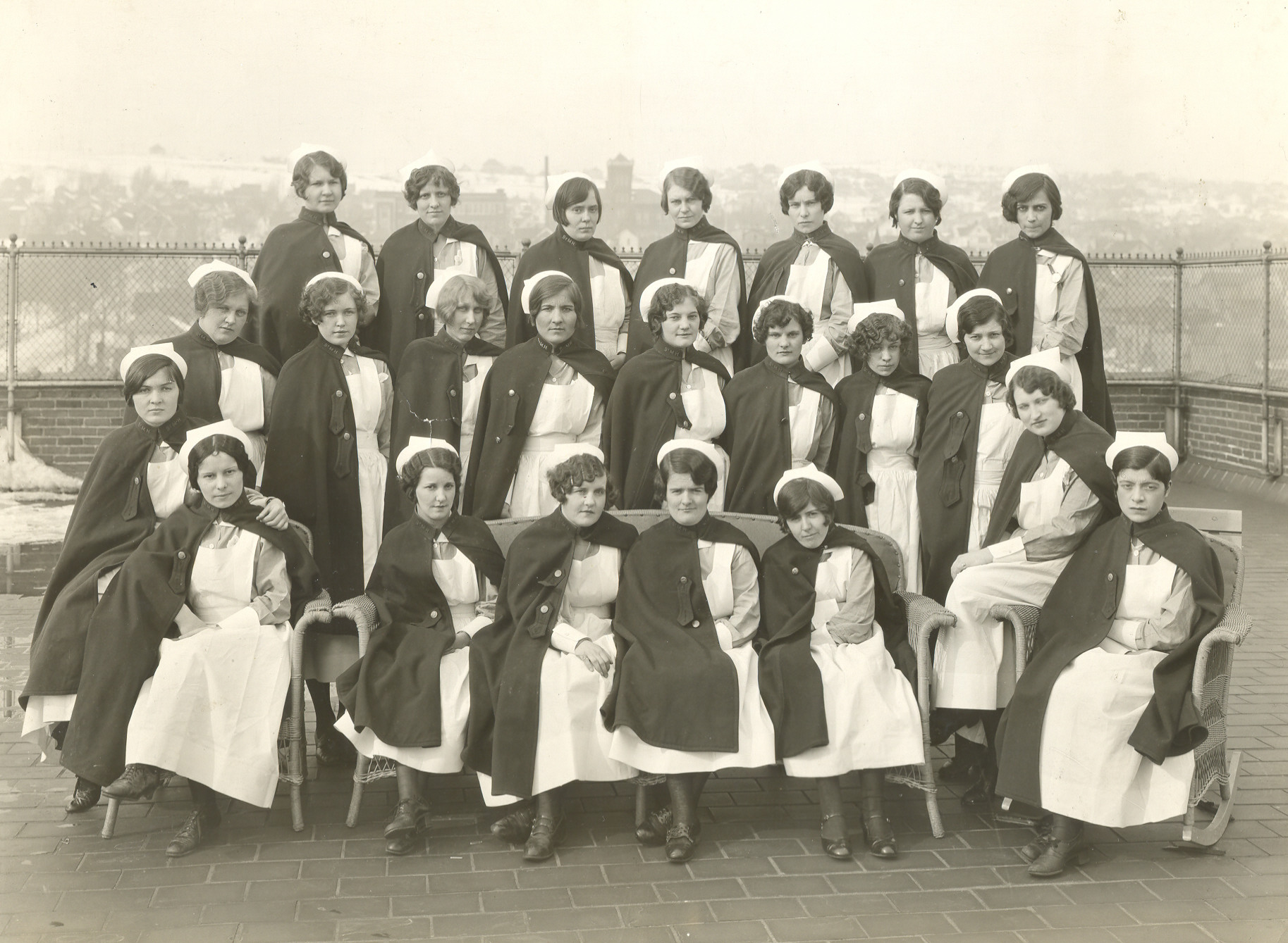 1929 Nursing Students