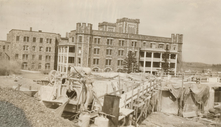1938 Chapel and Library Construction