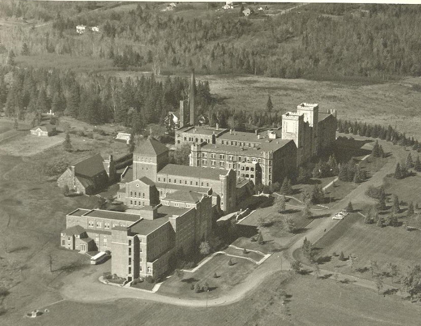 1941 Aerial View of Campus
