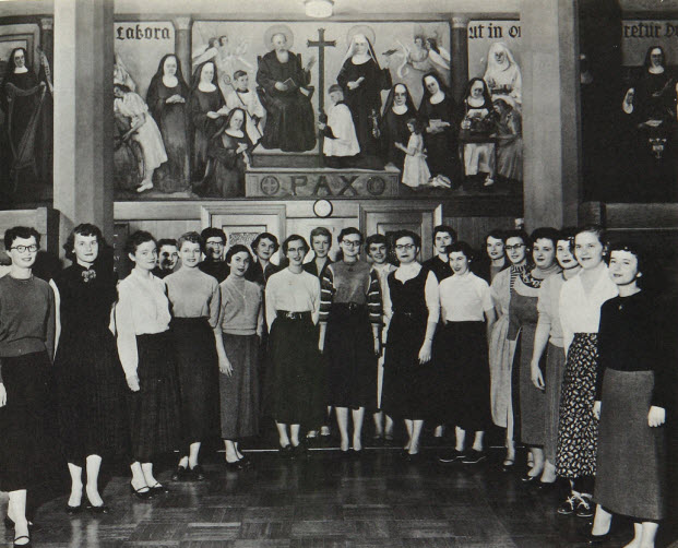 1955 Library Mural