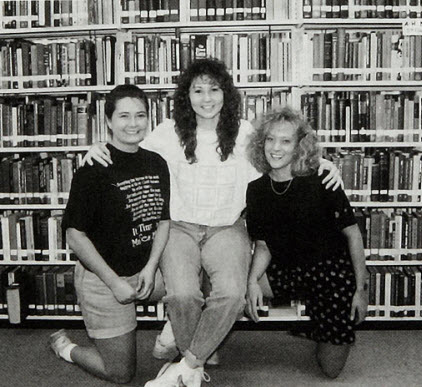 1995 Students in Library