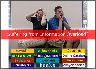 Suffering from information overload?