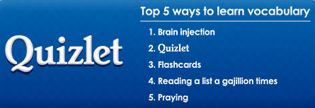Quizlet App Top 5 ways to learn vocabulary