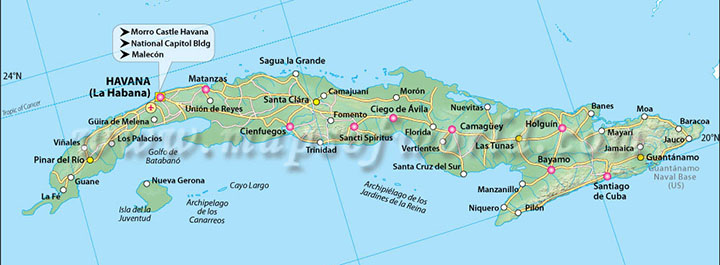 Cuba Ideate 76 374 Cuban Interactive Documentary Libguides At - Map-of-cuba-and-us