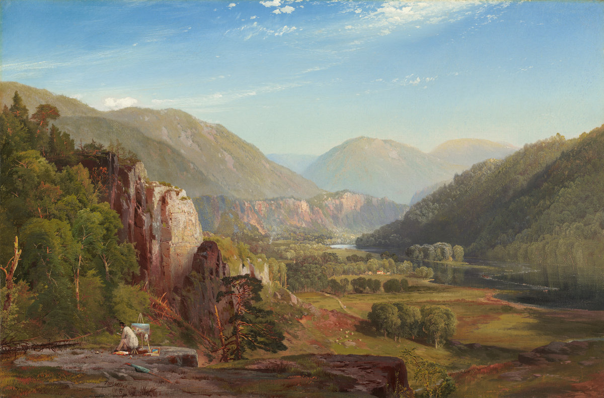 Painting of the Juniata River valley (PA)