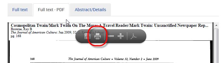 PDF Print - ProQuest