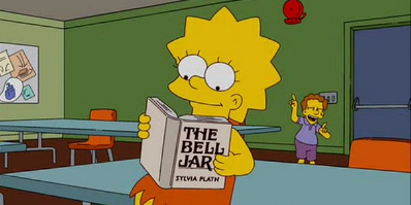 Lisa Simpson - The Bell Jar