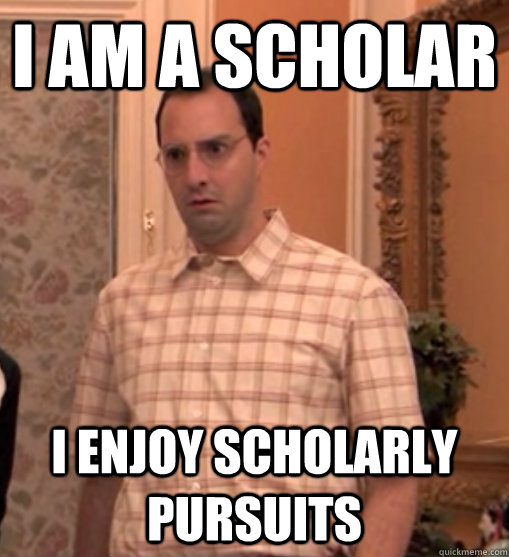 Arrested Development Scholar