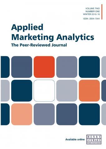 Applied marketing analytics