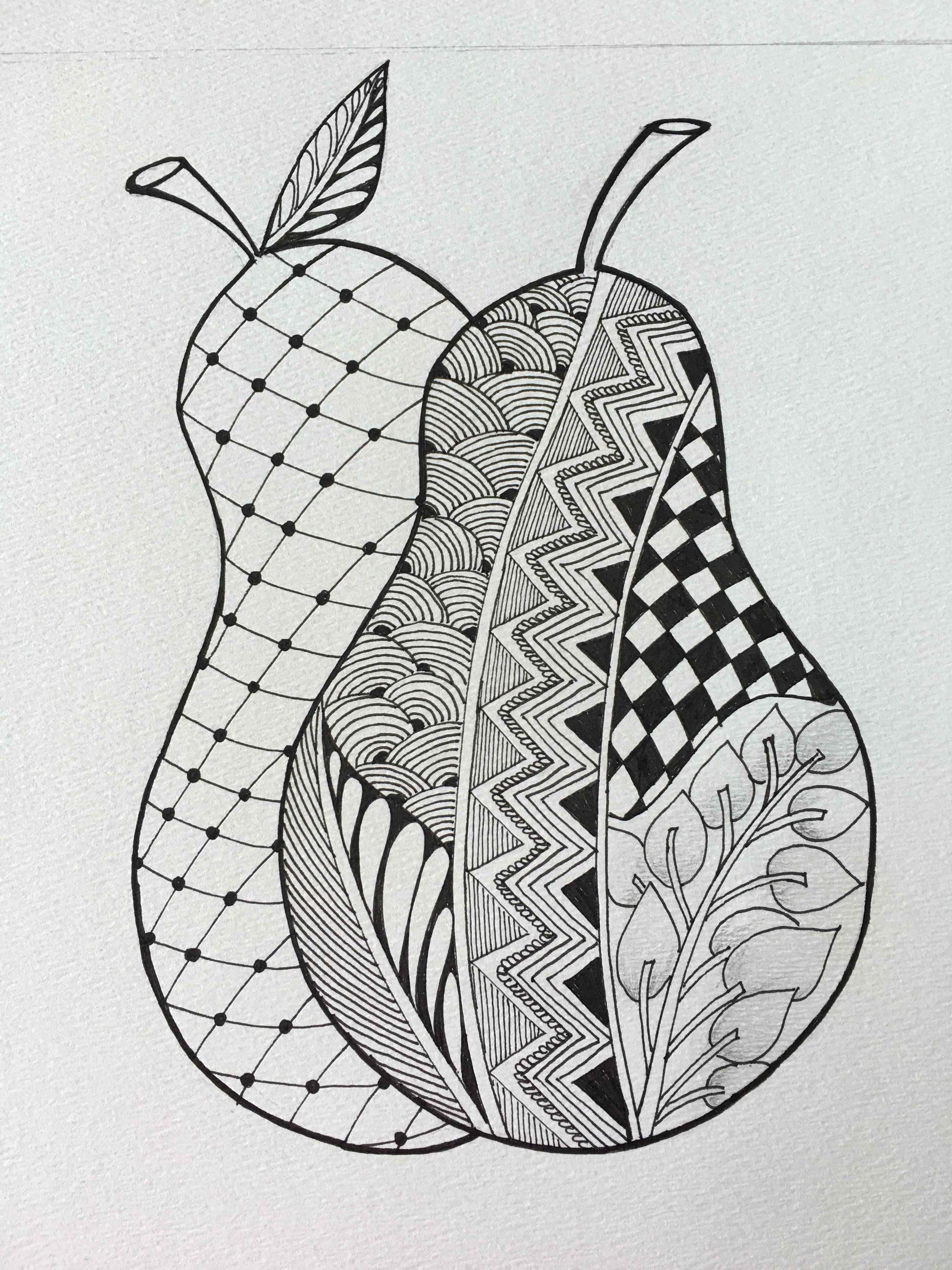 zentangle example