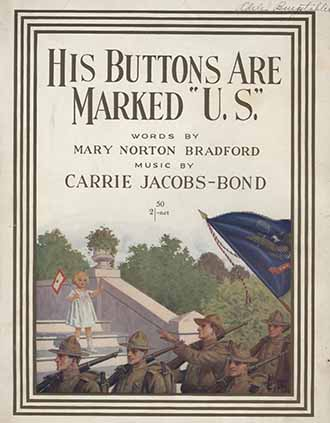 His buttons are marked U.S. cover art