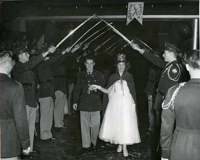 Military Ball, Late 1940s