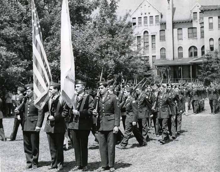 ROTC Review, 1948 – 1949