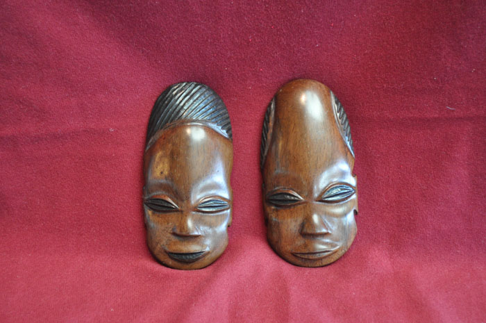 Two Masks from Botswana